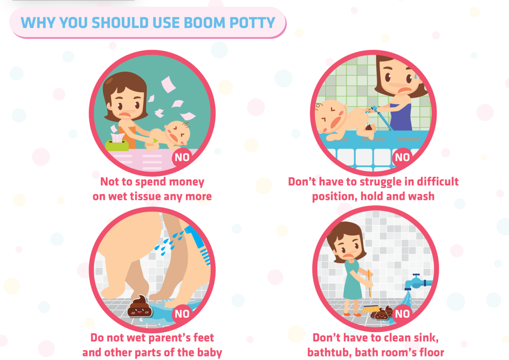 The benefits of Boom Potty