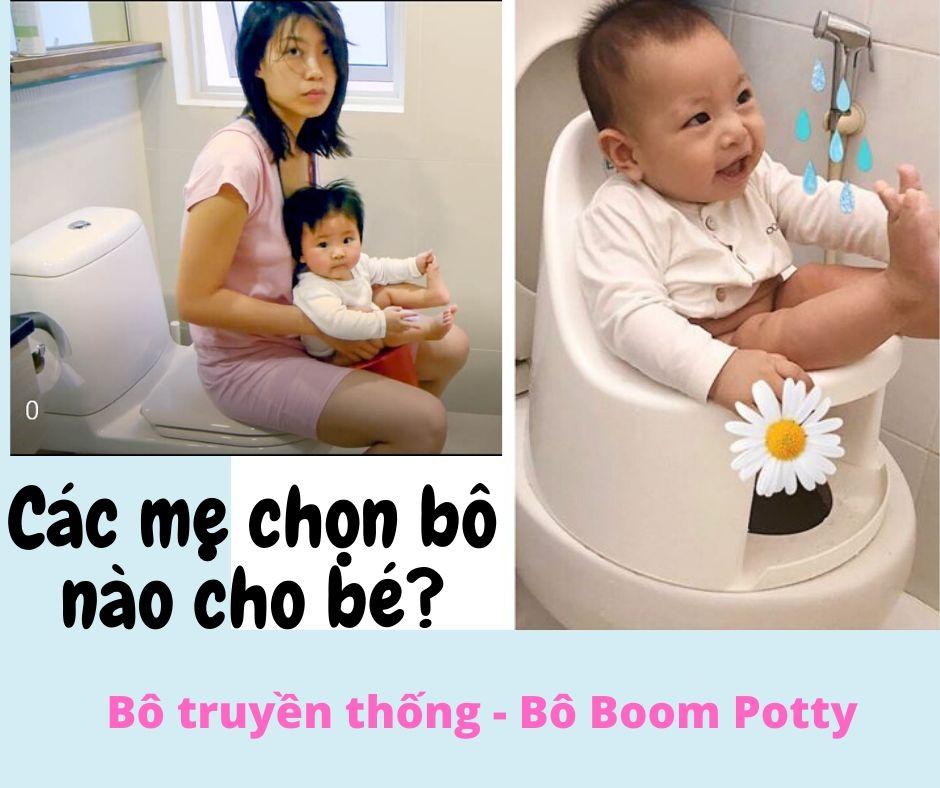 Bô rửa vệ sinh Boom Potty