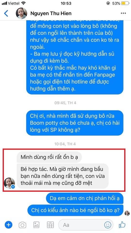 RV- Boom Potty Thu hiền