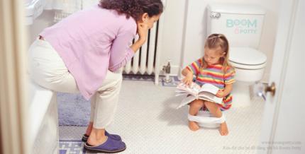 Hướng dẫn tập cho bé tự đi vệ sinh