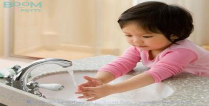 Hướng dẫn rửa tay cho bé
