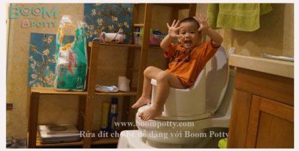 Mua Bô Rửa Đa Năng Cho Bé Boom Potty Ở Đâu?