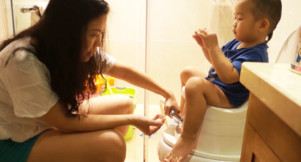 Cleaning for baby instruction