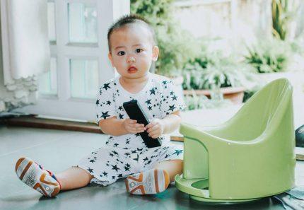 Đánh giá bô vệ sinh cho bé Boom Potty của chị Bảo Ngọc