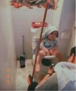 Trải nghiệm bô boom potty cùng chị Hoài Anh