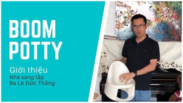 Dụng cụ hữu ích cho bố mẹ Bỉm Sữa – Giới thiệu Bô Boom Potty