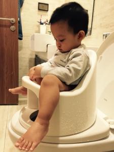 Review đánh giá sử dụng bô trẻ em Boom Potty của mẹ Nguyễn Hương