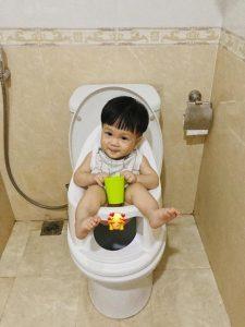 Đánh giá sau khi dùng bô vệ sinh Boom Potty của chị My và chị Phượng