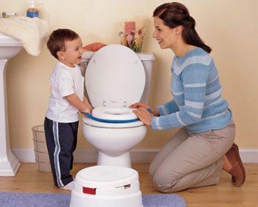 Mua bô vệ sinh bé không chịu ngồi, ba mẹ hãy thử ngay phương pháp này!