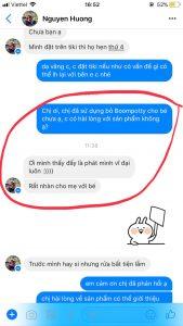 Review đánh giá sử dụng bô vệ sinh trẻ em Boom Potty của mẹ Nguyễn Hương