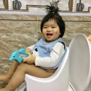 Đánh giá bô vệ sinh Boom Potty của mẹ Thảo Hương Võ Phạm