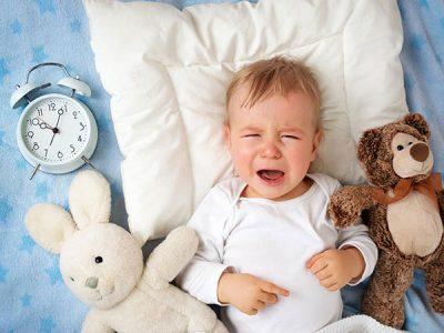 Nguyên nhân và giải pháp khi trẻ khóc đêm