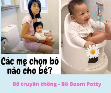 Đánh giá Bô vệ sinh Boom Potty có thật sự hiệu quả?