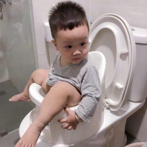 Nhận xét về sản phẩm bô cho trẻ boom potty chị Kim Ngân