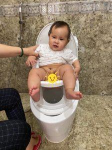 Đánh giá về bô Boom Potty sau 1 tuần sử dụng- Chị Mỹ Hạnh