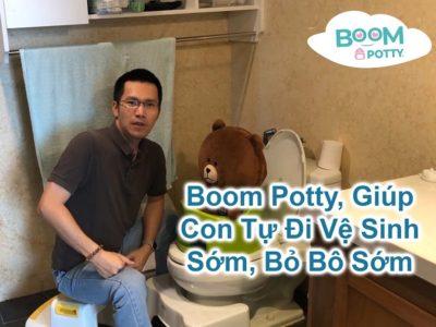 Tại Sao Boom Potty Giúp Tập Cho Bé Ngồi Bô và Bỏ Một Cách Tự Nhiên?
