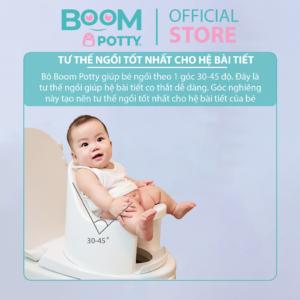 Tại sao ba mẹ nên lựa chọn bô boom potty cho bé?